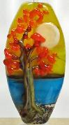 Autumn Tree by Shore SOLD on eBay m4rykelly seller name or use MKELLY in search title to find my listed beads. Handmade Lampwork Focal bead. Cherry Moon